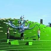 Die Bregenzer Festspiele präsentieren ab Samstag eine frei zugängliche Bühnenshow