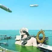 Luftschiffe und die Seebühne