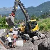Zwei Millionen für Kanalbau in der Alpenstadt