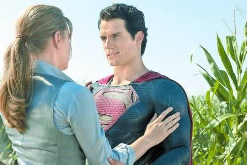 Lois Lane (Amy Adams) und Clark Kent (Henry Cavill). Warner Bros.