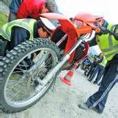 Jagd auf Mopeds