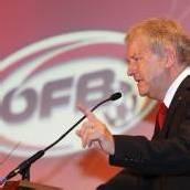 Windtner einstimmig als ÖFB-Chef wiedergewählt