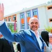 Sozialisten in Albanien vorne