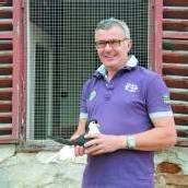 Herr der Gourmet-Tauben