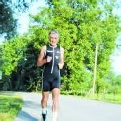 Mit 72 Jahren beim Ironman