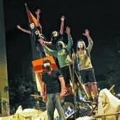 Demonstranten in der Türkei als Plünderer beschimpft