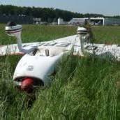 Flugzeug überschlug sich