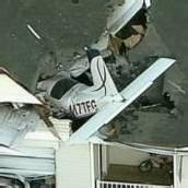 Flugzeug landete im Wohnzimmer