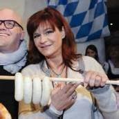 Andrea Berg wird Winzerin