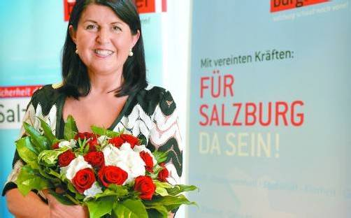 Vorerst letzte Landeshauptfrau: Gabi Burgstaller. Foto: APa