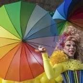 Gay-Pride-Parade in Sao Paulo