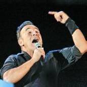Bruce Springsteen eingehend beobachtet