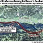Neuer Asphalt für Langener Tunnel