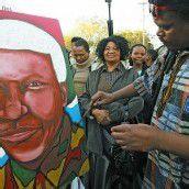 Bangen um Nelson Mandela