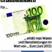 Was der Euro im Urlaub wert ist