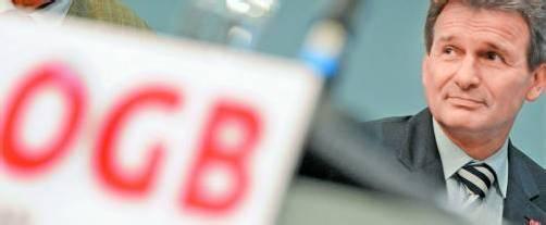 ÖGB-Kongress: Präsident Erich Foglar und Co. werden sich von heute bis Donnerstag in Wien versammeln und für eine Steuerreform werben. Foto: APA