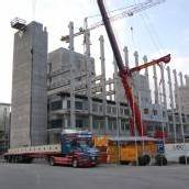 Nägele-Betonwerk vor Übernahme