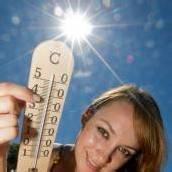 HitzerekordErstmals über 40 Grad gemessen /D6