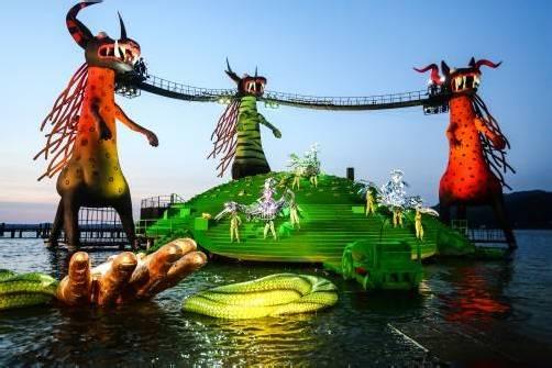 """Bürgermeister Markus Linhart: """"Bregenz ist mit den Bregenzer Festspielen als Festivalmarke zentraler Hotspot der Region."""" Foto: VN/Steurer"""