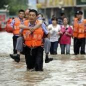 Unwetter in Westchina lösten Erdrutsch aus
