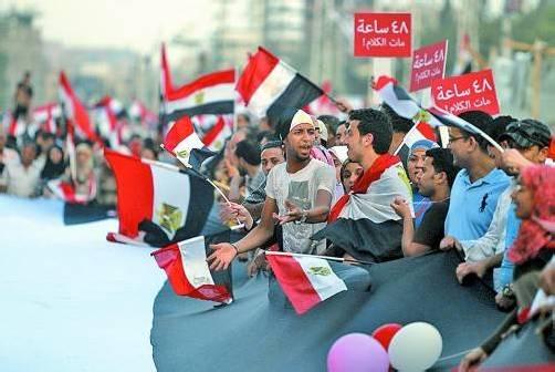 Auch gestern gingen in Kairo wieder Hunderttausende gegen Präsident Mursi auf die Straße. Foto: Reuters