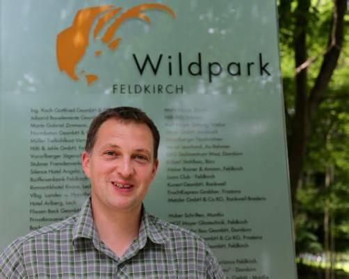 Christian Ammann wurde neuer Leiter des Wildparks. Foto: koe
