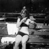 Nostalgie in Bikiniform