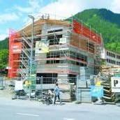 Dachgleiche bei Neubau in St. Gallenkirch gefeiert