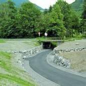Lorüns: Radweg jetzt deutlich übersichtlicher