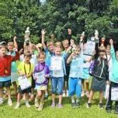50 Kinder mit Herz und Begeisterung dabei