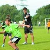 Dribbeln mit Diego und Naldo