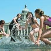 Briten schwitzen seit Wochen in Hitzewelle