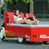 Im Bettbike durch Berlin