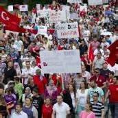 Erdogan-Fans demonstrierten in Bregenz