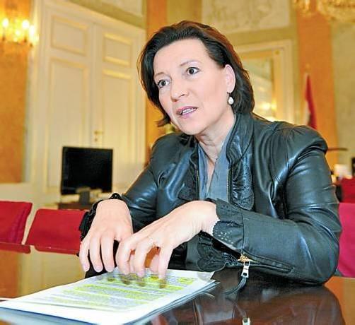 Frauenministerin Gabriele Heinisch-Hosek (SPÖ). Foto: APA