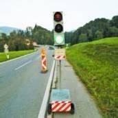 Baustellenampel in Schwarzenberg geklaut