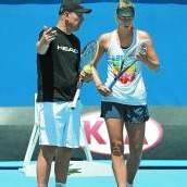 Scharapowa trennt sich von ihrem Trainer