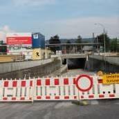 Neue Radbrücke beim Lauteracher Bahnhof