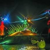 La-Ola-Welle für die Zauberflöte