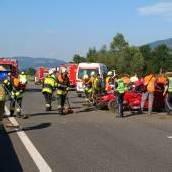 Schwerer Unfall auf A14: Polizei sucht Zeugen