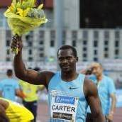 Carter siegt in Madrid über 100 Meter in 9,87