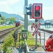 Bahnübergänge am See in Gefahr