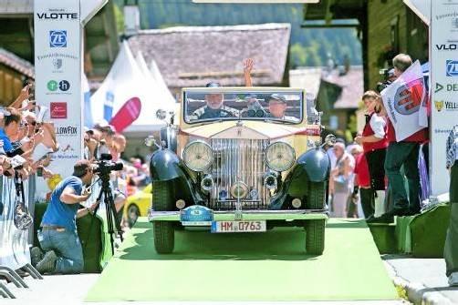 Schmuckstücke der Automobilgeschichte sind ab heute wieder für drei Tage im Montafon zu bewundern. Fotos: VN/Hofmeister, VN/Paulitsch