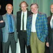 Nobelpreisträger faszinierte prominente Gästerunde
