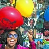 Mandela beging 95. Geburtstag