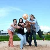 Sandplatz für Volleyballer
