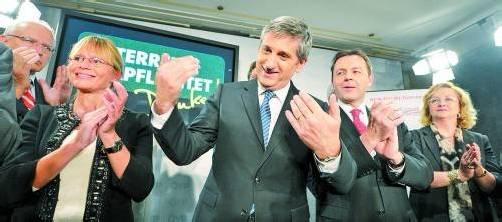 Vizekanzler und ÖVP-Chef Michael Spindelegger, Bildmitte, mit Justizministerin Karl (l.) und Umweltminister Berlakovich. Foto: APA