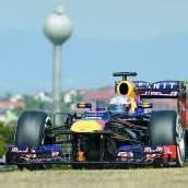 Vettel für die Hitze gewappnet
