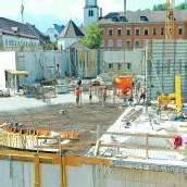 Montforthaus-Bespielung unklar Mit dem Bau ist man aber im Plan /D4