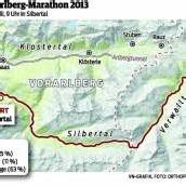 Marathon mit 1300 Höhenmetern